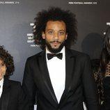 Marcelo con su familia en la gala de los Premios The Best 2019