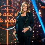 Toñi Moreno luciendo orgullosa su embarazo en 'Un año de tu vida'