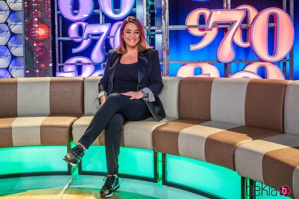 Toñi Moreno embarazada  en 'Un año de tu vida'