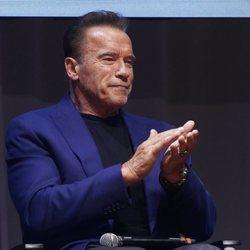 Anorld Schwarzenegger en la Arnold Classic Europe 2019