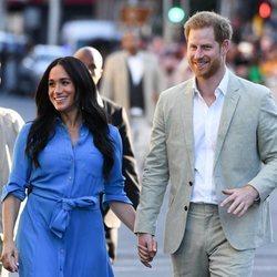 El Príncipe Harry y Meghan Markle en su viaje oficial a Sudáfrica