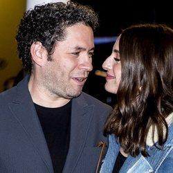 María Valverde, muy cómplice con su marido Gustavo Dudamel en el Festival de Cine de San Sebastián 2019