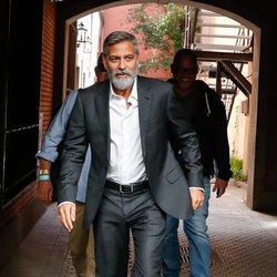 George Clooney por las calles de Madrid
