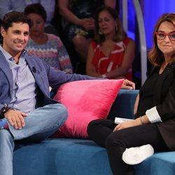 Fran Rivera hablando con Toñi Moreno en 'Aquellos maravillosos años'