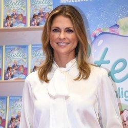 Magdalena de Suecia en la presentación de su libro 'Stella y el secreto'