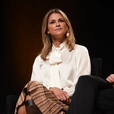Magdalena de Suecia durante la presentación de su libro 'Stella y el secreto'