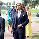 Luis Giménez antes de su boda con Marta Pombo
