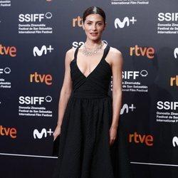 Bárbara Lennie en la clausura del Festival de Cine de San Sebastián 2019