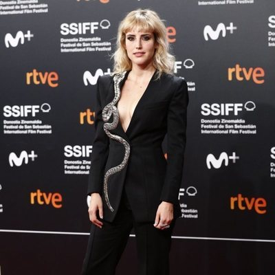 Natalia de Molina en la clausura del Festival de Cine de San Sebastián 2019