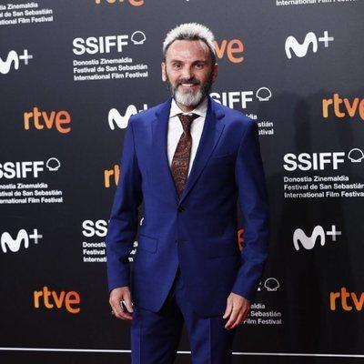 Fernando Tejado en la clausura del Festival de Cine de San Sebastián 2019