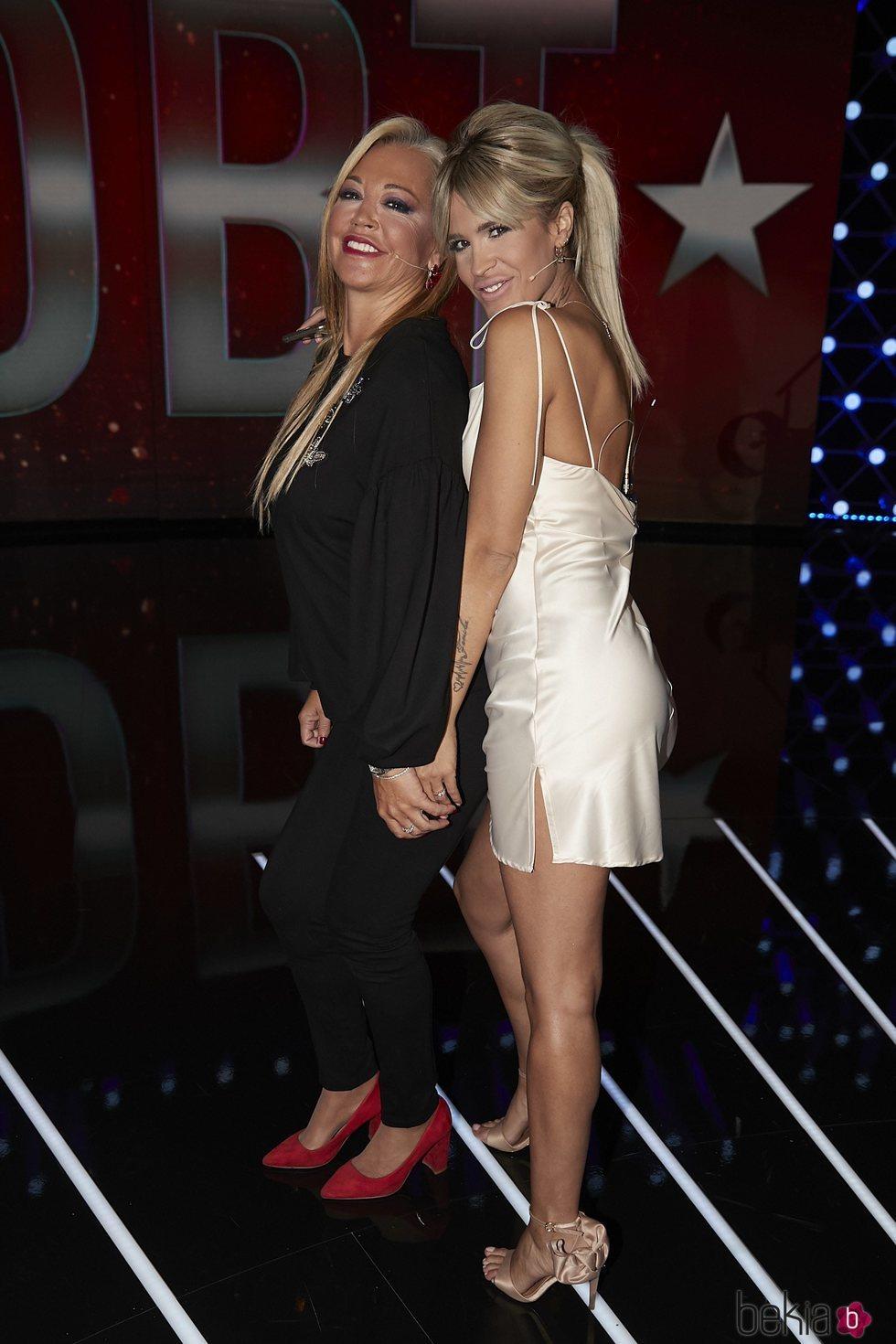 Belén Esteban e Ylenia Padilla en el tercer debate de 'GH VIP 7'