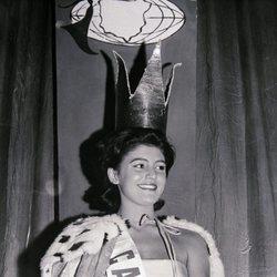 Tita Cervera elegida Miss Cataluña 1960