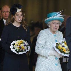 La Reina Isabel y Beatriz de York