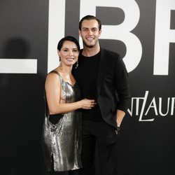 Soraya Arnelas y Miguel Herrera en la fiesta de presentación del perfume 'Libre' de Yves Saint Laurent