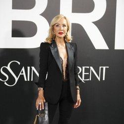 Carmen Lomana en la fiesta de presentación del perfume 'Libre' de Yves Saint Laurent