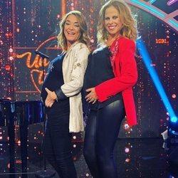 Toñi Moreno y Pastora Soler presumiendo de embarazo