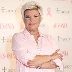 Terelu Campos en una campaña contra el cáncer de AECC 2019