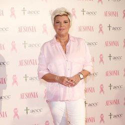 Terelu Campos es fotografiada en una campaña contra el cáncer de AECC 2019