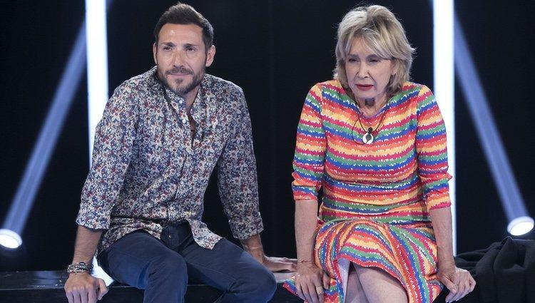 Mila Ximénez y Antonio David Flores en la gala 5 de 'GH VIP 7'