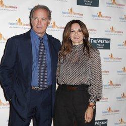 Bertín Osborne y Fabiola Martínez en la presentación de la nueva campaña de la Fundación Bertín Osborne