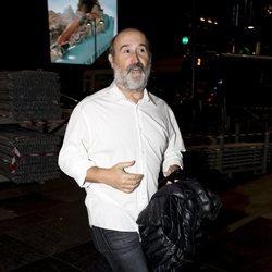 Javier Cámara en la fiesta de cumpleaños de Paco León
