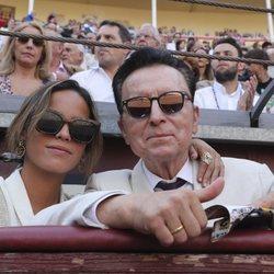 José Ortega Cano y  Gloria Camila en Las Ventas