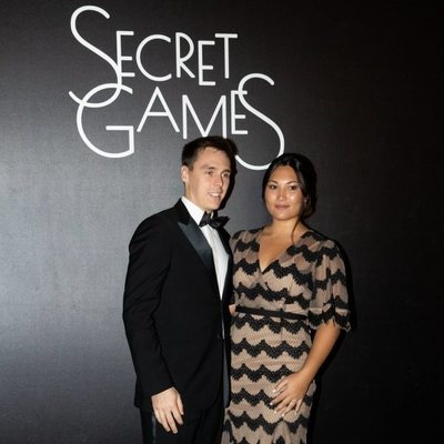 Louis Ducruet y Marie Chevallier en Secret Games