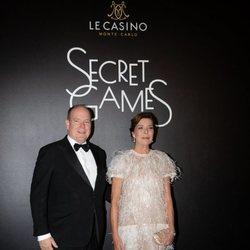 Alberto y Carolina de Mónaco en Secret Games