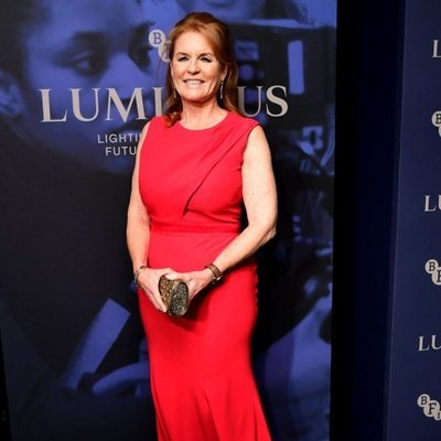 Sarah Ferguson en la Luminous Fundraising Gala del BFI London Film Festival 2019