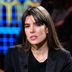 Carlota Casiraghi en el programa 'Le Parole della settimana'