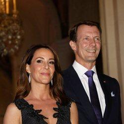 Joaquín y Marie de Dinamarca en una cena en el Ayuntamiento de París