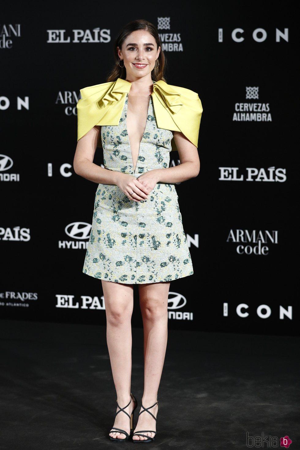 Candela Serrat en los Premios Icon 2019