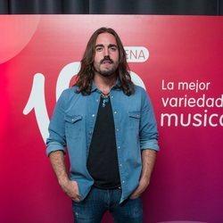 Andrés Suárez en 'La verbena' de Cadena 100