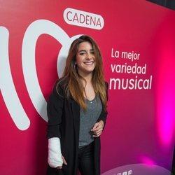 Marta Soto en 'La verbena' de Cadena 100