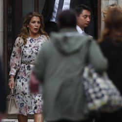 Haya de Jordania en la Corte de Justicia de Londres