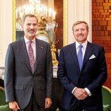 Los Reyes Felipe y Alejandro de Holanda en La Haya