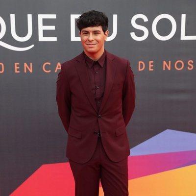 Alfred García en el estreno del espectáculo de Leo Messi en el Circo del Sol