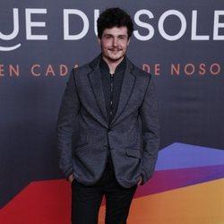Miki Núñez en el estreno del espectáculo de Leo Messi en el Circo del Sol
