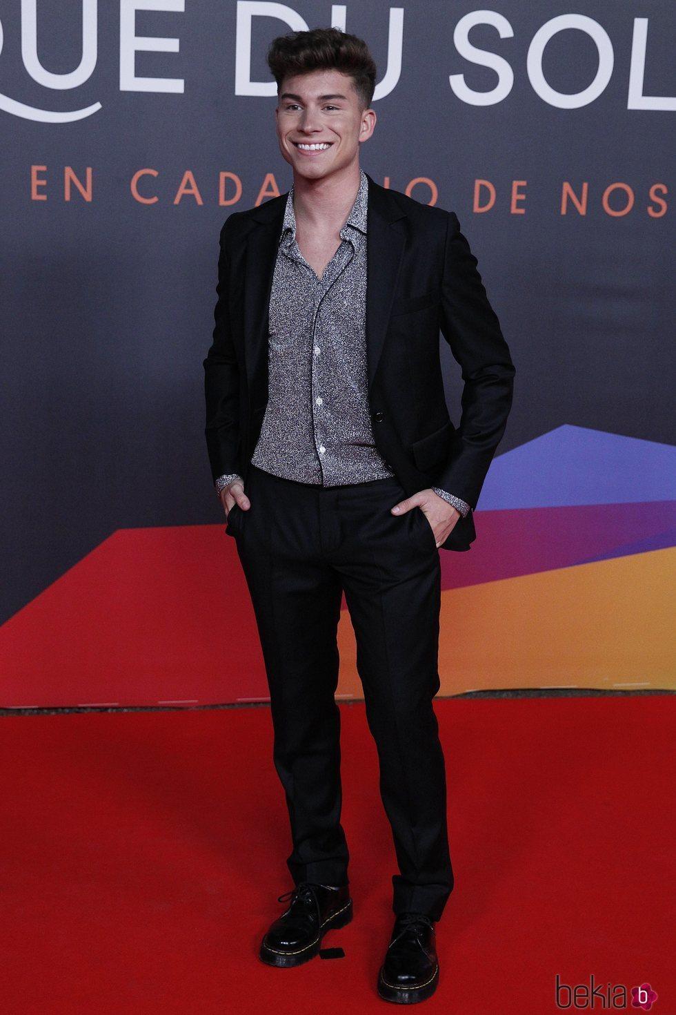 Raoul Vázquez en el estreno del espectáculo de Leo Messi en el Circo del Sol