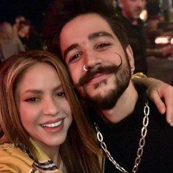 Shakira con Camilo Echeverry en el estreno del espectáculo de Leo Messi en el Circo del Sol