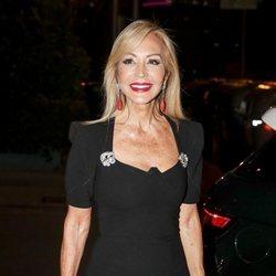 Carmen Lomana en la fiesta del 25 aniversario de Tacha Beauty