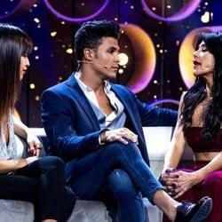Kiko Jiménez con Sofía Suescun y Maite Galdeano en la sexta gala de 'GH VIP 7'
