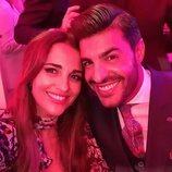Paula Echevarría y Miguel Torres en la fiesta del 25 aniversario de Tacha Beauty