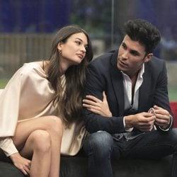 Estela Grande y Kiko Jiménez muy cómplices durante la sexta gala de 'GH VIP 7'