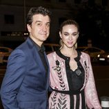 Javier Veiga y Marta Hazas en la fiesta del 25 aniversario de Tacha Beauty