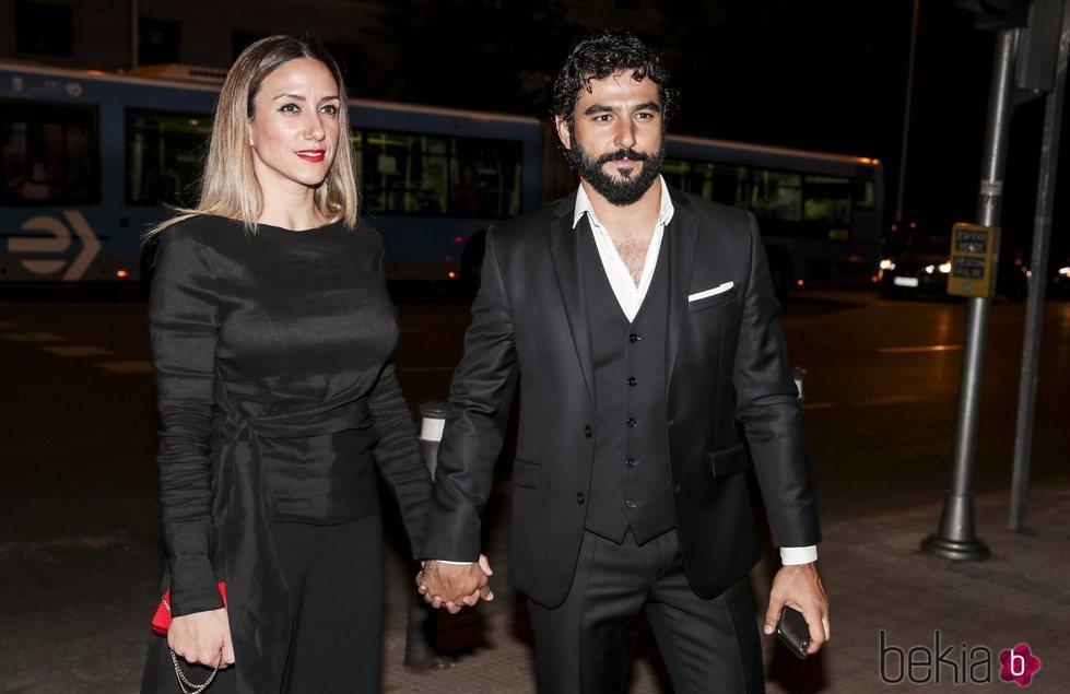 Antonio Velázquez y Yohanna Alonso en la fiesta del 25 aniversario de Tacha Beauty