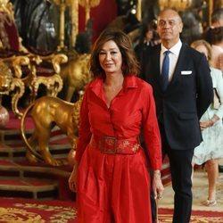 Ana Rosa Quintana en la recepción por el Día de la Hispanidad 2019