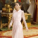 La Reina Letizia en la recepción del Día de la Hispanidad 2019