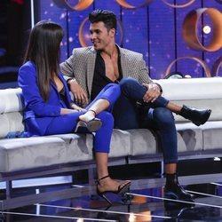 Sofía Suescun y Kiko Jiménez en el quinto debate de 'GH VIP 7'