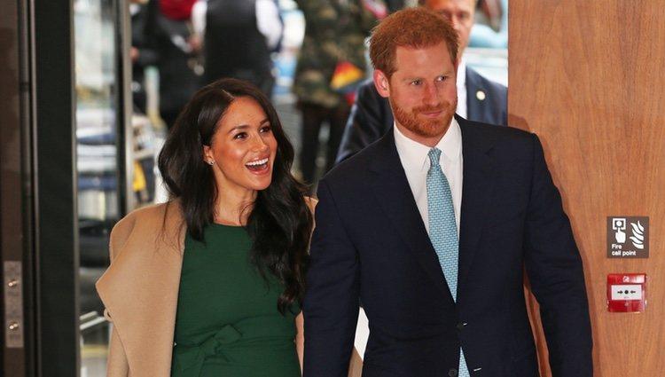 El Príncipe Harry y Meghan Markle en los Well Child Awards 2019